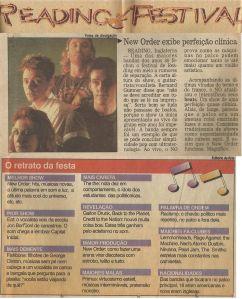 """Segundo Caderno, """"O Globo"""", 03/09/1993."""